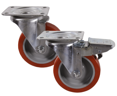 Medium Duty 22 & 29  Series Poly/Nylon Castors 250kg - 500kg