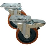 Medium Duty 22 & 29 Series Poly/Cast Iron Castors 250kg - 500kg