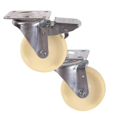 Medium Duty 22 & 29 Series Nylon Castors 250kg - 500kg