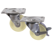 Medium Duty  61 & 88     Series Nylon Castors     50kg - 270kg