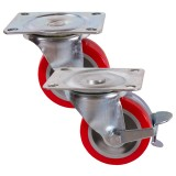 Medium Duty Poly/Nylon Wheeled Castors  250kg