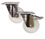 Medium Duty Stainless Steel Top Plate Castors
