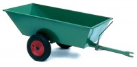 Towable Wheelbarrow T105 With a Tipping Mechanism