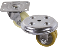 Specialist Castor Range Twin Wheel Low Level Castors