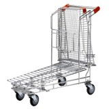 Nestable Trolley with Top Basket