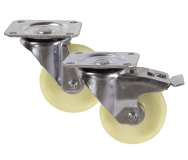 Medium Duty RS Series Nylon Top Plate Castors 135kg - 350kg