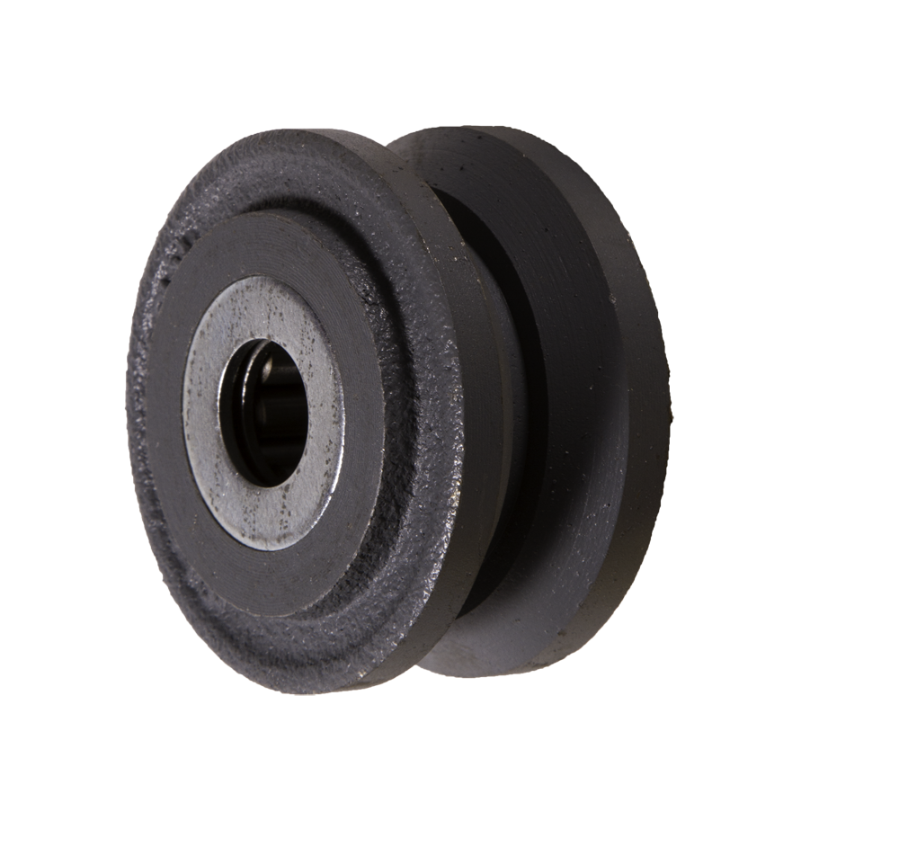 wheels cv series v grooved cast iron wheel